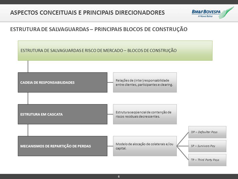 6 ASPECTOS CONCEITUAIS E PRINCIPAIS DIRECIONADORES ESTRUTURA DE SALVAGUARDAS – PRINCIPAIS BLOCOS DE CONSTRUÇÃO CADEIA DE RESPONSABILIDADES ESTRUTURA E
