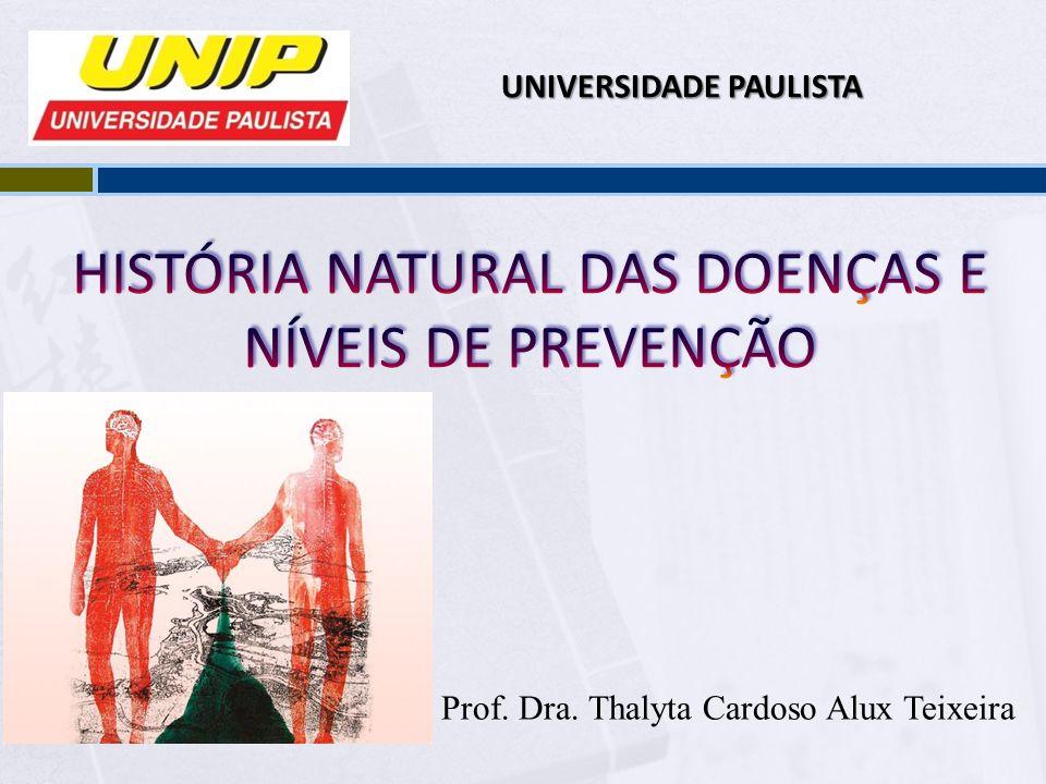 Prof. Dra. Thalyta Cardoso Alux Teixeira UNIVERSIDADE PAULISTA