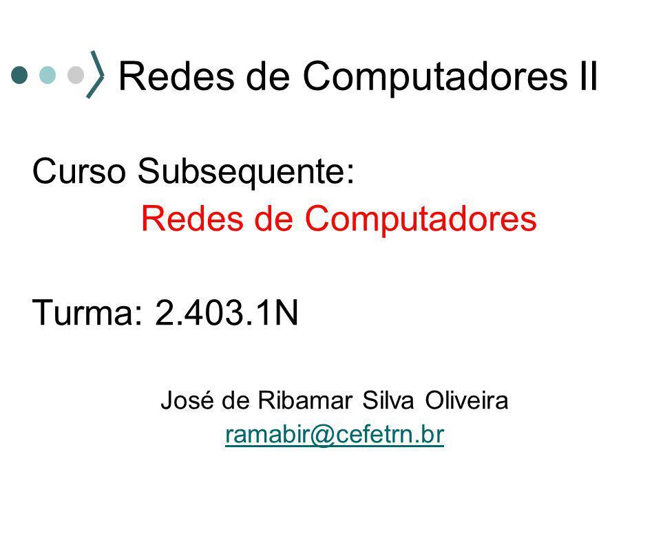 Padrões IEEE ( Institute of Electrical and Electronic Engineers) 10BASE T Taxa de 10 Mbps Banda base Alcance de 100 m Cabo par trançado não blindado (UTP) Conector RJ45