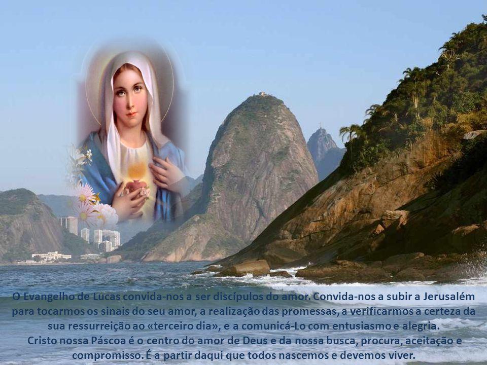 O Evangelho de Lucas convida-nos a ser discípulos do amor.