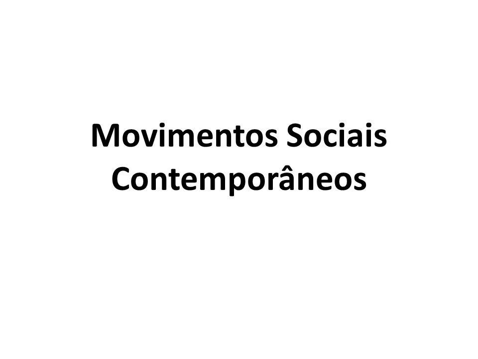 Movimentos Sociais Contemporâneos