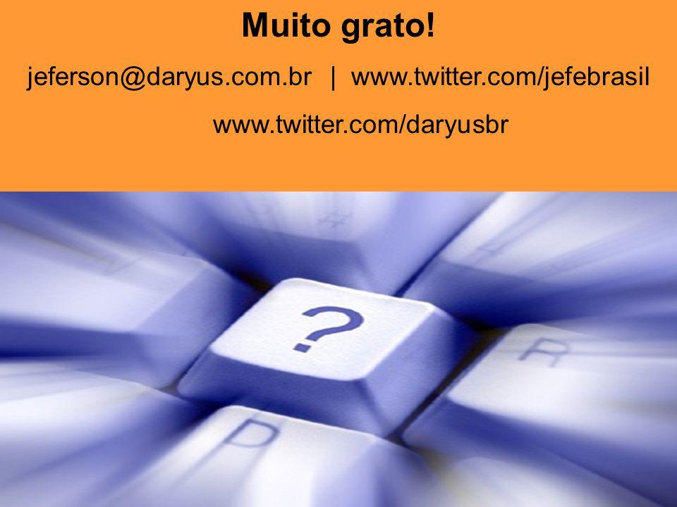 2011 ®Copyright. www.grc-inter.com Muito grato.