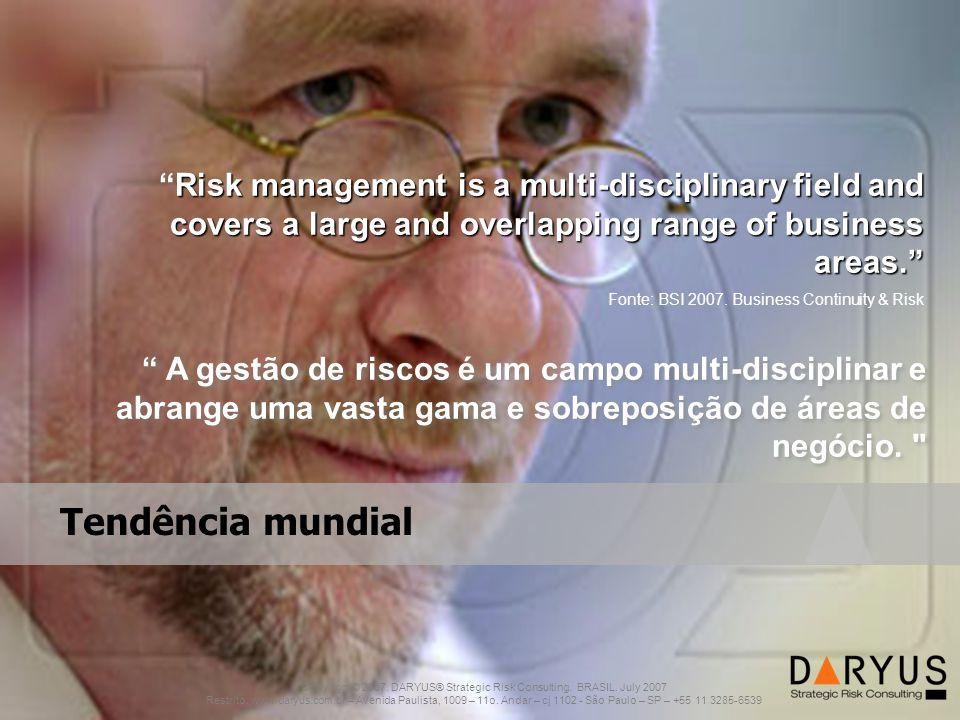 2011 ®Copyright. www.grc-inter.com Tendência mundial Copyright © 2007.