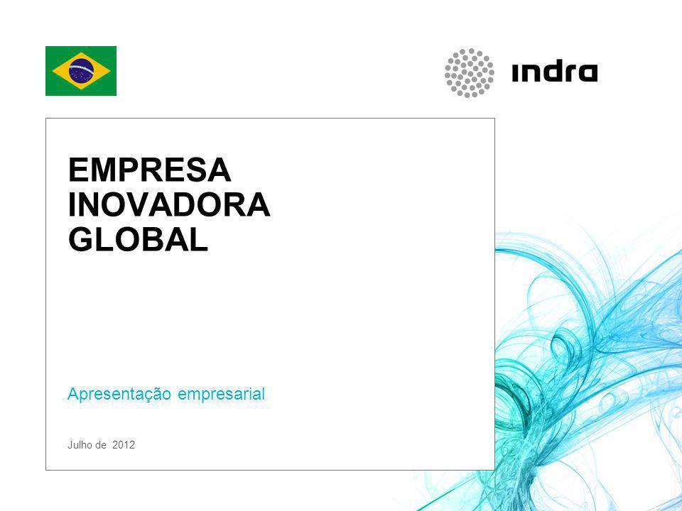 EMPRESA INOVADORA GLOBAL Apresentação empresarial Julho de 2012