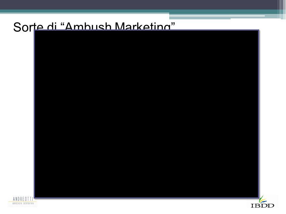 """Sorte di """"Ambush Marketing"""""""
