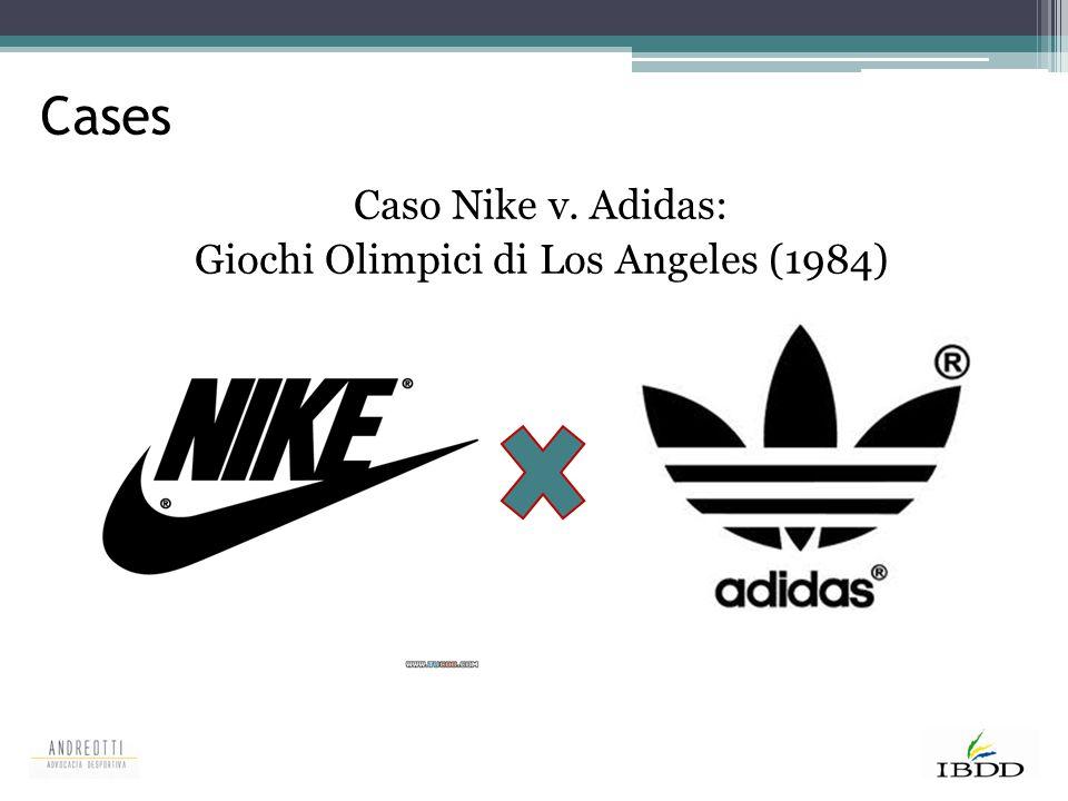 Cases Caso Nike v. Adidas: Giochi Olimpici di Los Angeles (1984)