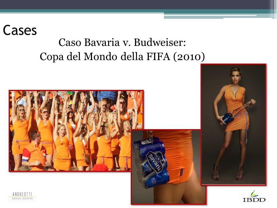 Cases Caso Bavaria v. Budweiser: Copa del Mondo della FIFA (2010)