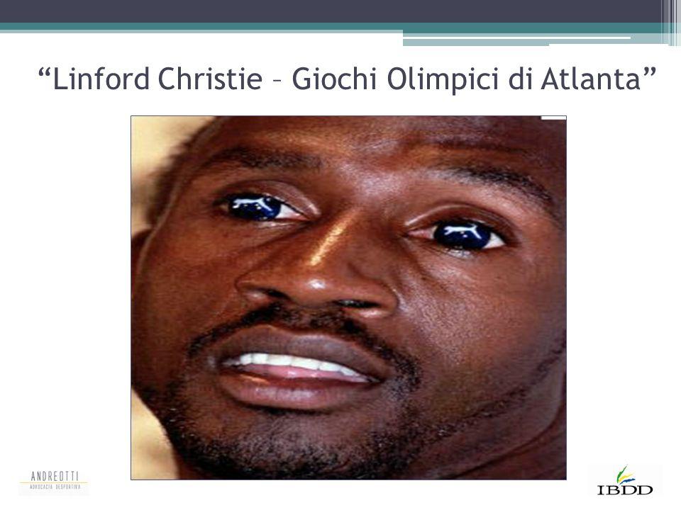 """""""Linford Christie – Giochi Olimpici di Atlanta"""""""