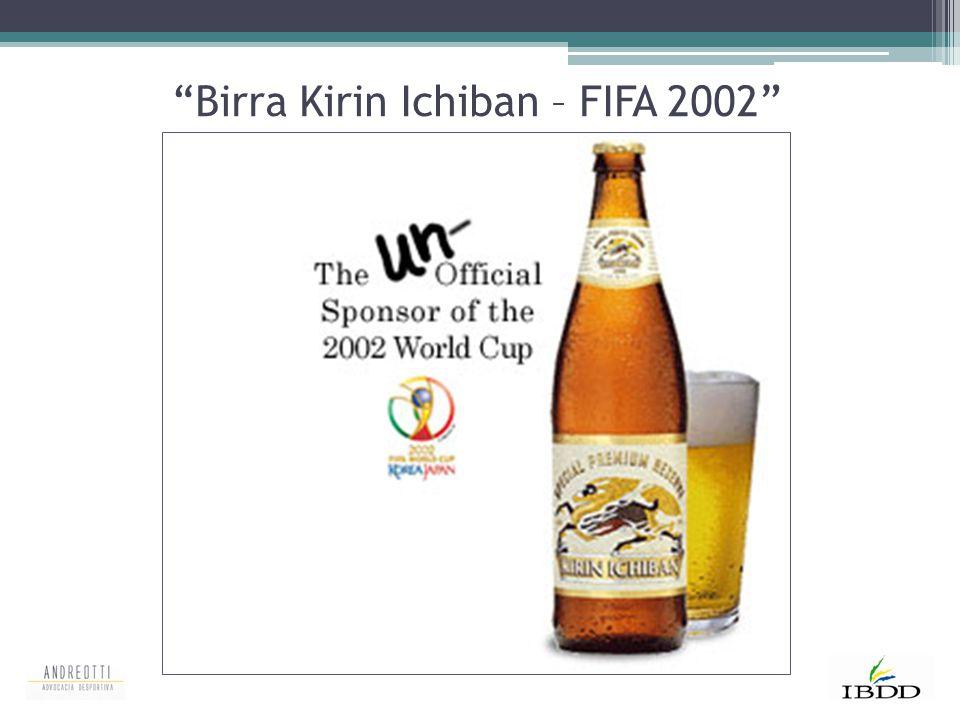 """""""Birra Kirin Ichiban – FIFA 2002"""""""