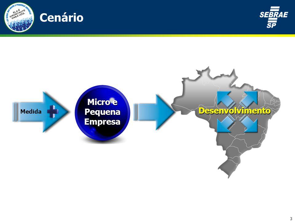 3 Cenário Micro e Pequena Empresa Medida Desenvolvimento