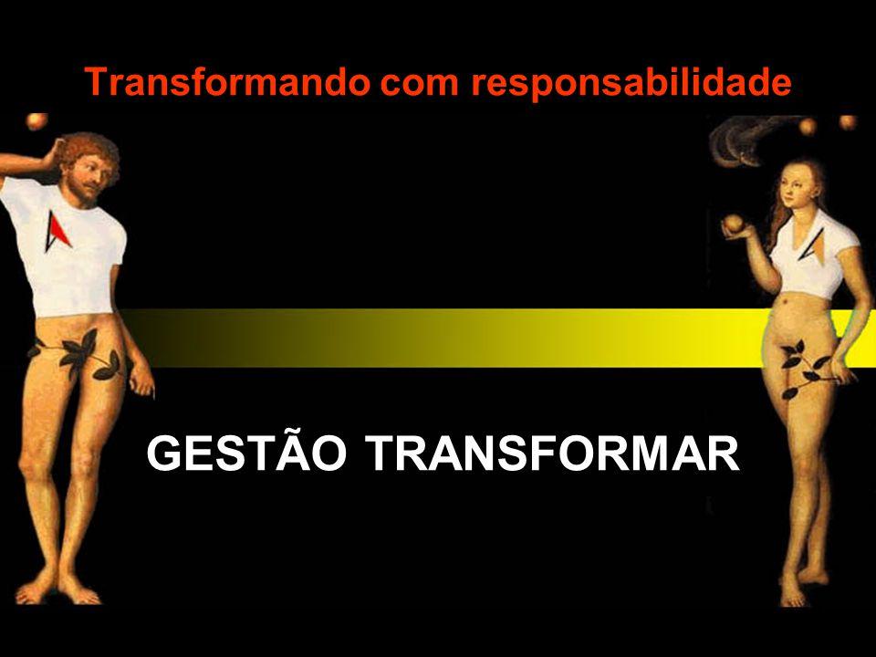 Transformando com responsabilidade GESTÃO TRANSFORMAR