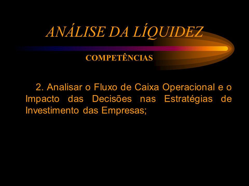 ANÁLISE DA LÍQUIDEZ 2.