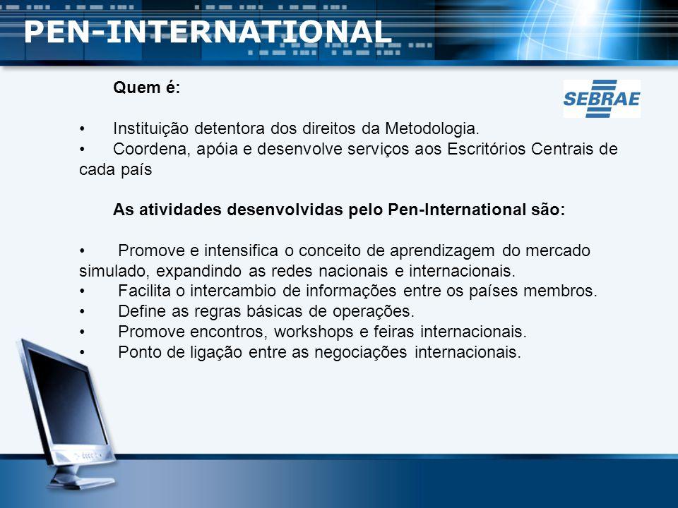 Criado em 1996 e faz parte dos projetos de educação e empreendedorismo do Sebrae-MG; Coordena e apoiar as empresas brasileiras filiadas; Serve como porta de acesso ao mercado simulado internacional, através da Central Cesbrasil de Comércio Exterior.