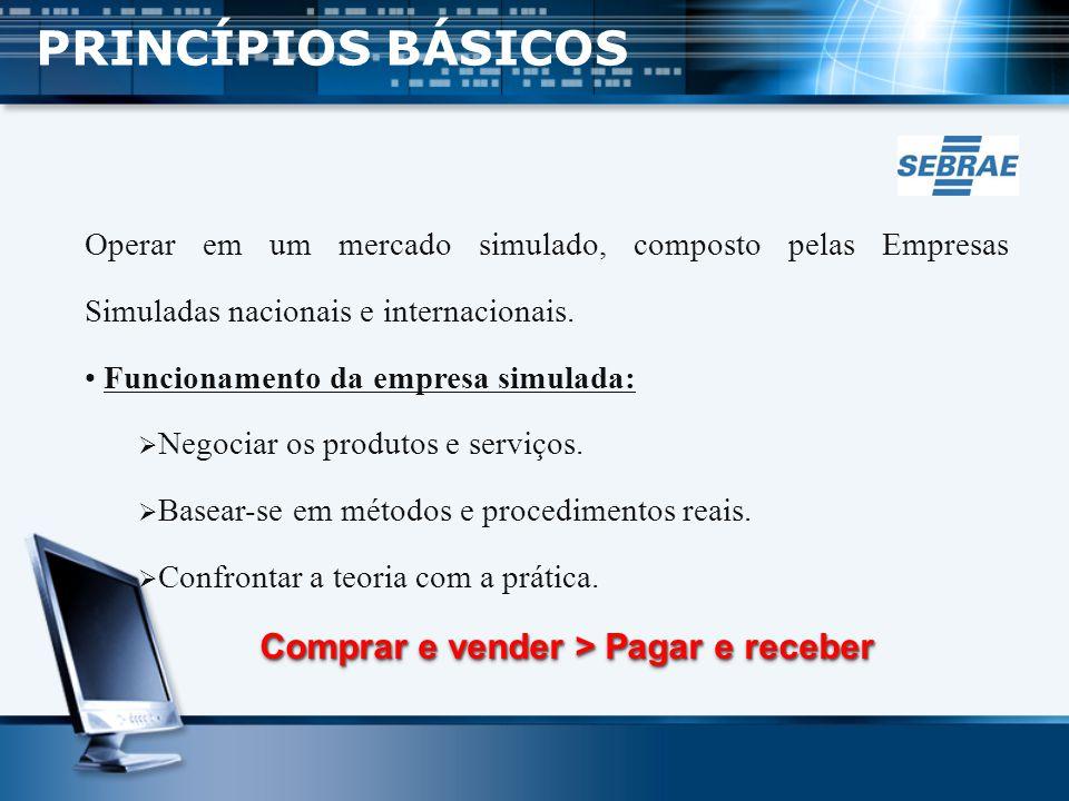 GOVERNO CESBRASIL - Responsável pela condução da metodologia de empresas simuladas no âmbito das divulgações das regras e diretrizes que a metodologia exige.