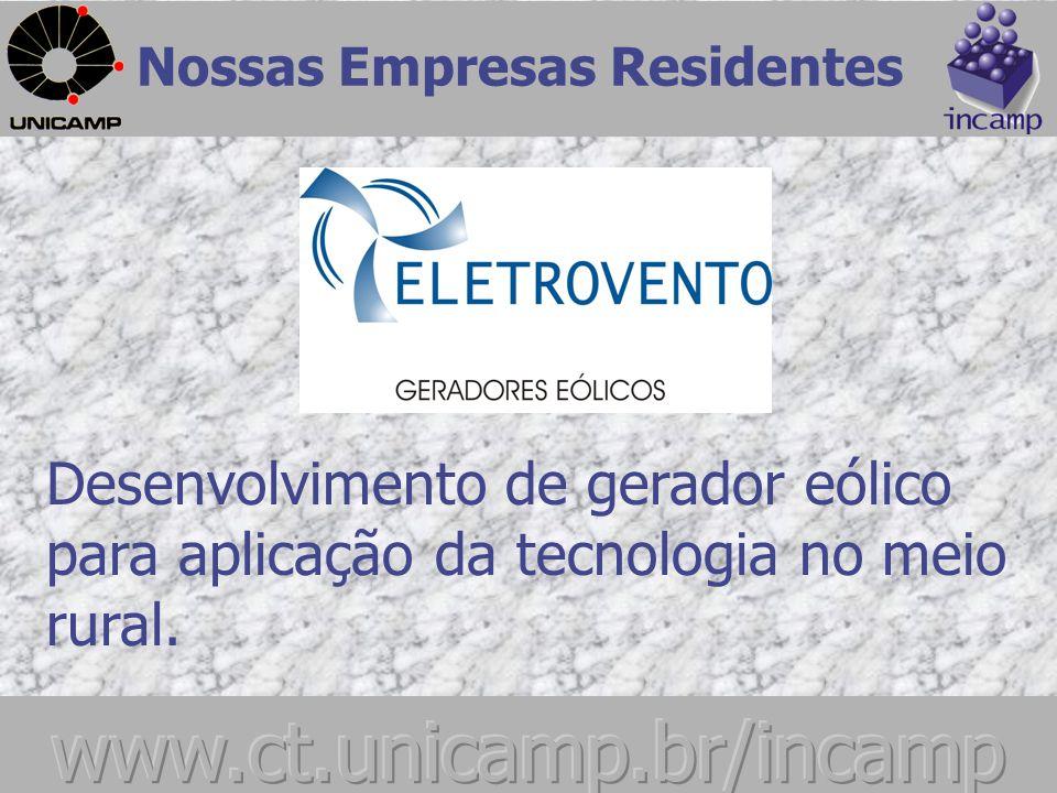 Empresa voltada ao desenvolvimento, consultoria e treinamento na área de Engenharia de Software