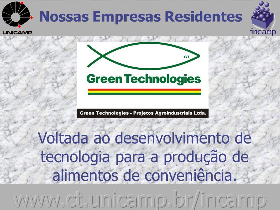 Nossas Empresas Residentes Desenvolvimento de gerador eólico para aplicação da tecnologia no meio rural.