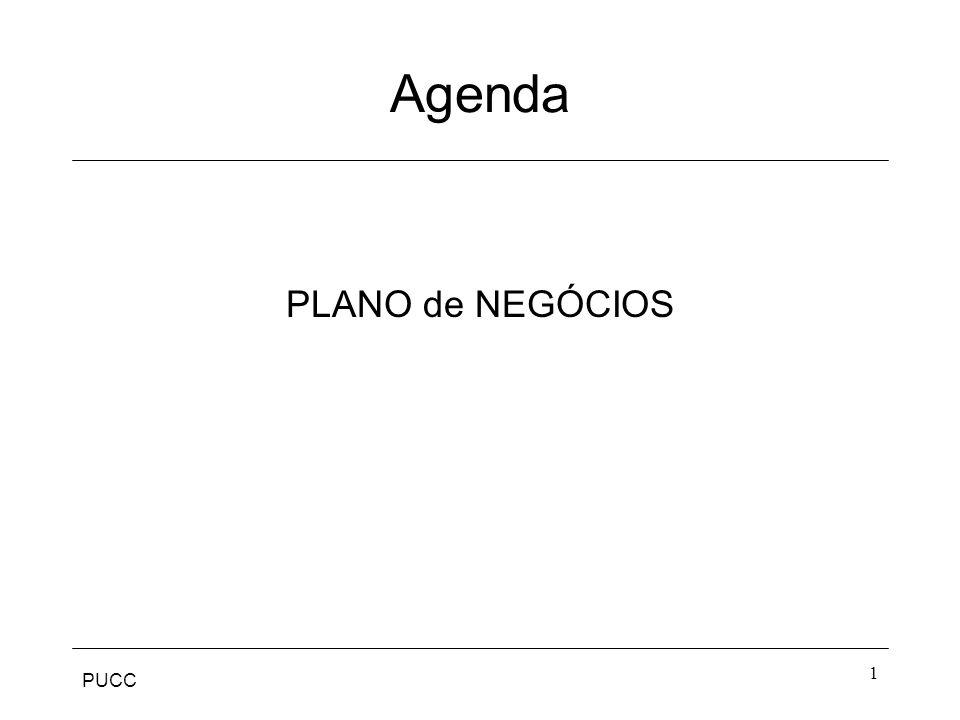 PUCC 1 Agenda PLANO de NEGÓCIOS