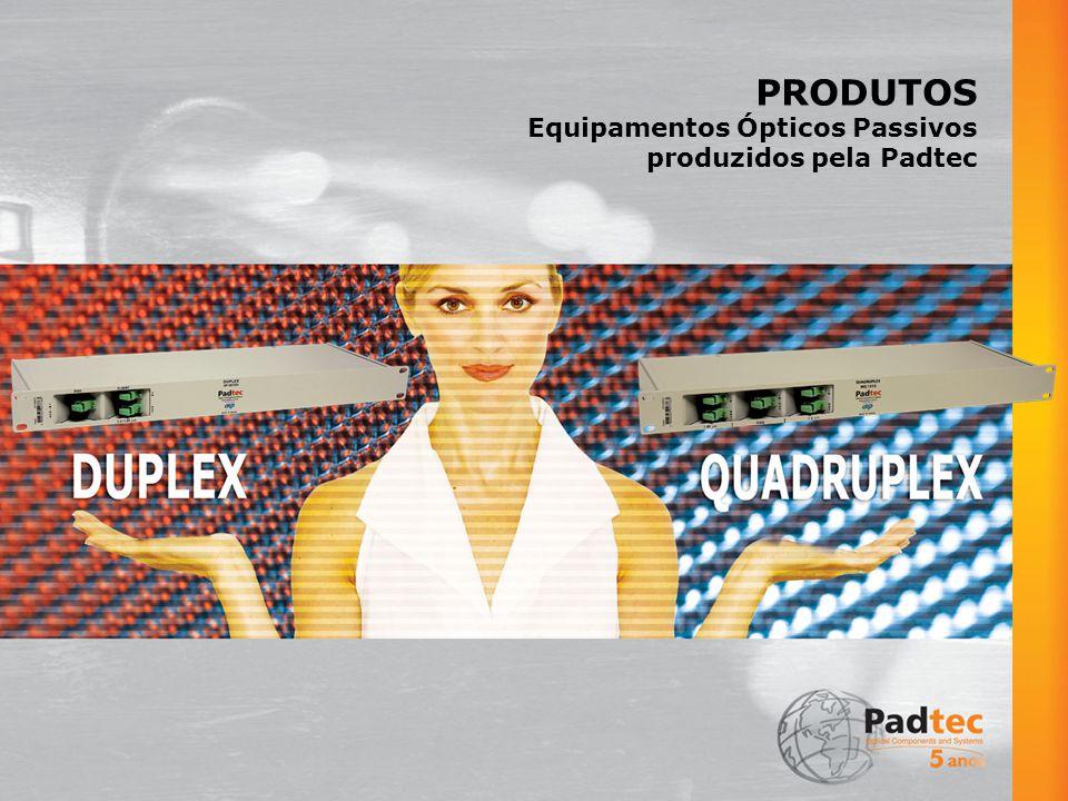 PRODUTOS Equipamentos Ópticos Passivos produzidos pela Padtec