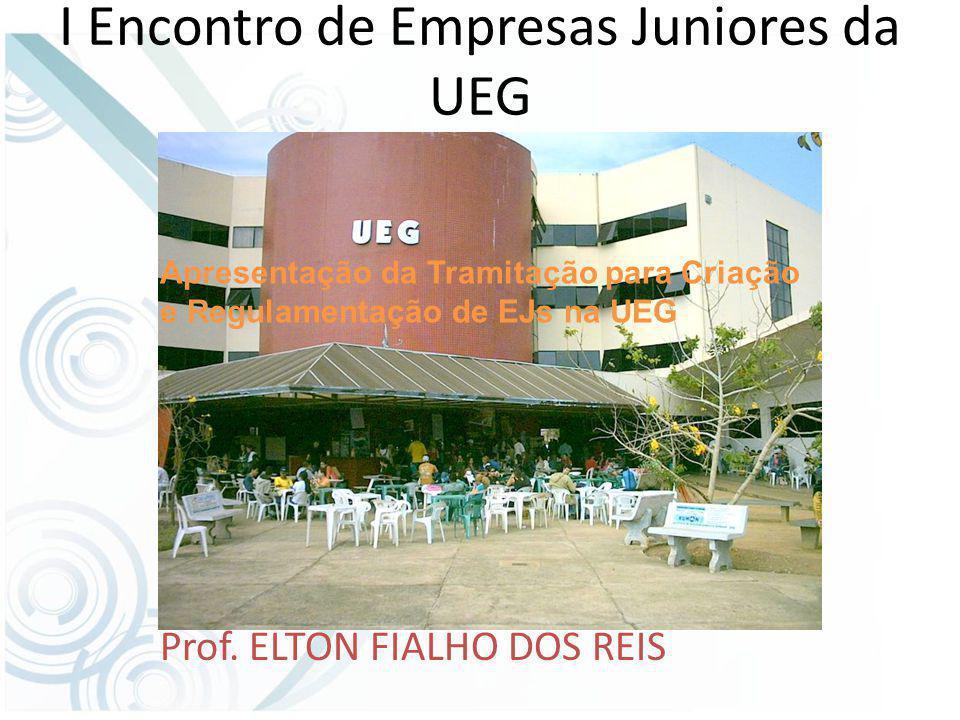 I Encontro de Empresas Juniores da UEG Prof.
