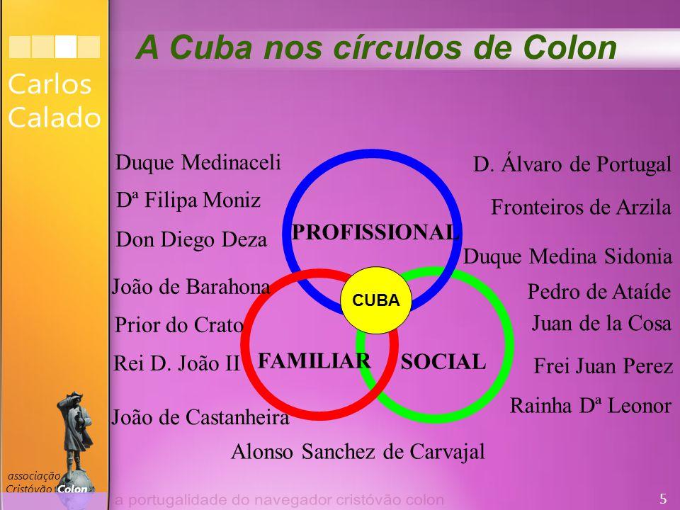 16 associação Cristóvão Colon CC sabia para onde ia .