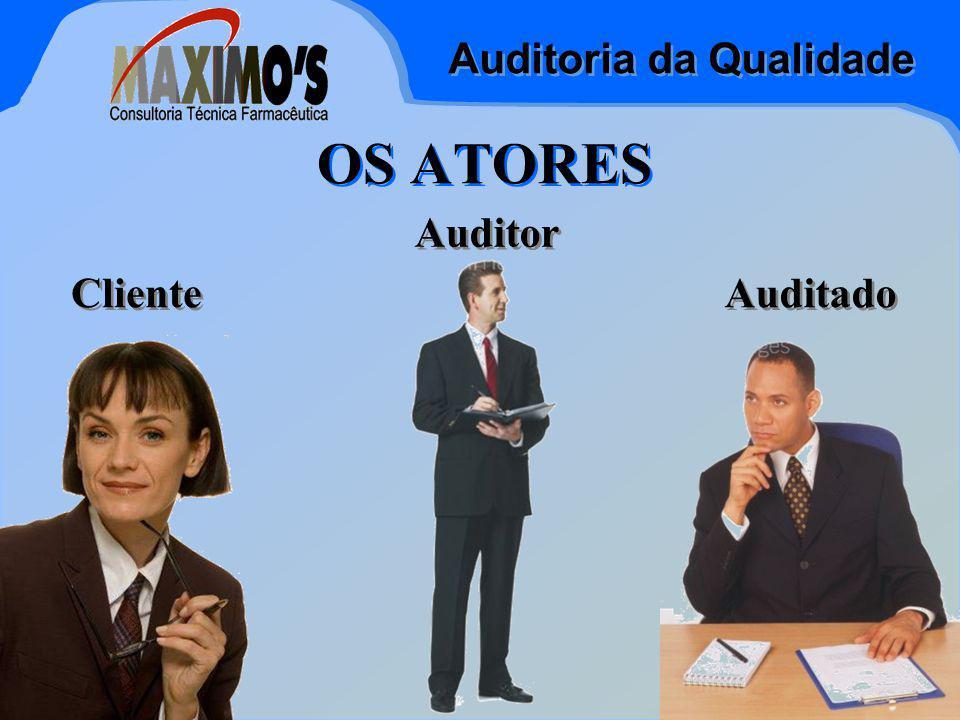 Auditoria da Qualidade Jan-15 OS ATORES Cliente Auditado Auditor