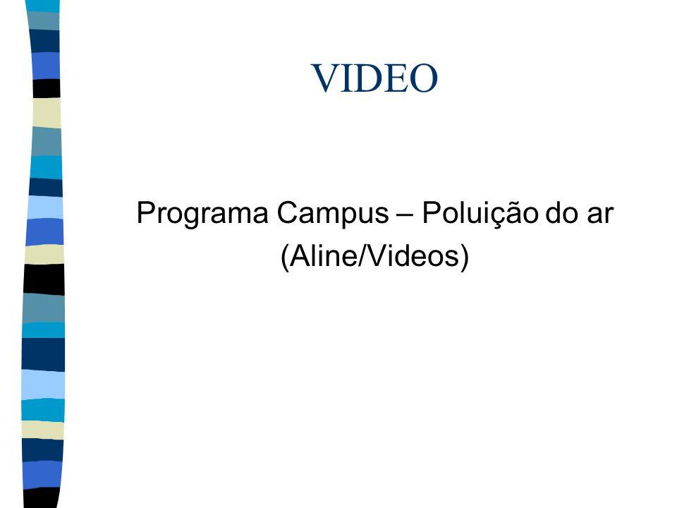 VIDEO Programa Campus – Poluição do ar (Aline/Videos)