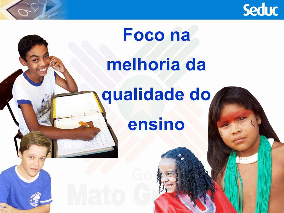 30.497 Profissionais da educação em 2009 Fonte: Seduc/Supe/Sami EDUCAÇÃO BÁSICA ESTADUAL 702 Escolas Estaduais com 473.058 alunos 1.763 escolas municipais com 352.279 alunos