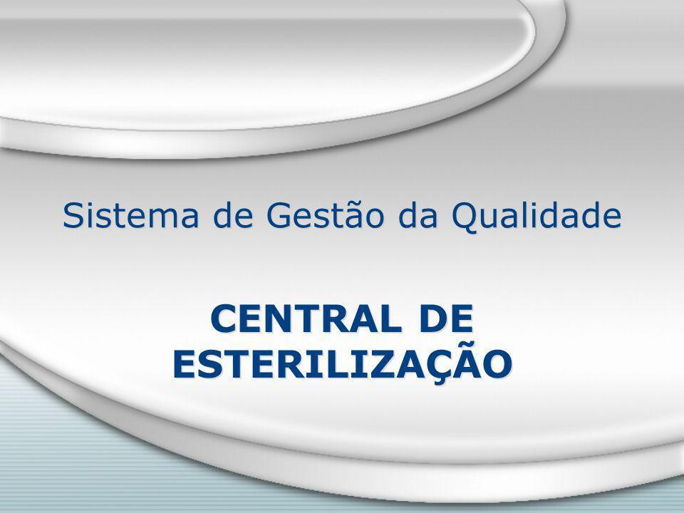 Sistema de Gestão da Qualidade CENTRAL DE ESTERILIZAÇÃO