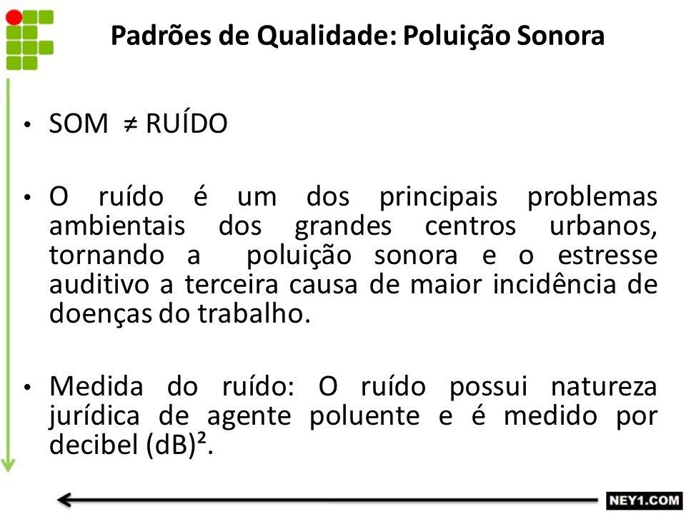 SOM ≠ RUÍDO O ruído é um dos principais problemas ambientais dos grandes centros urbanos, tornando a poluição sonora e o estresse auditivo a terceira