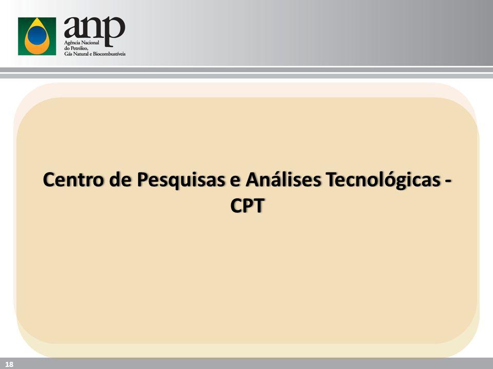 Centro de Pesquisas e Análises Tecnológicas - CPT 18