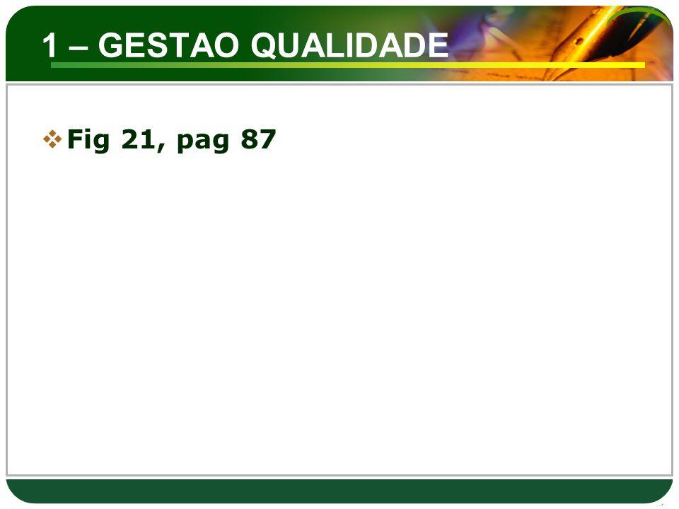 1 – GESTAO QUALIDADE  Fig 21, pag 87