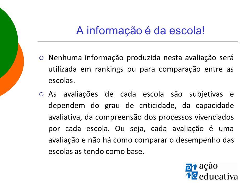 A informação é da escola.