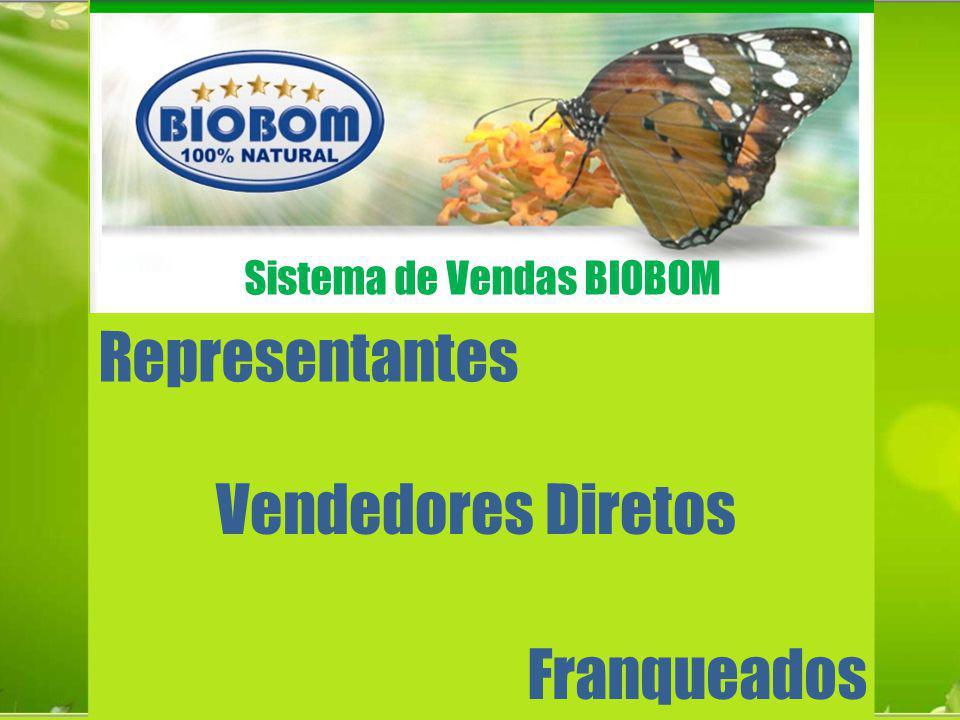 Representantes Franqueados Vendedores Diretos Sistema de Vendas BIOBOM