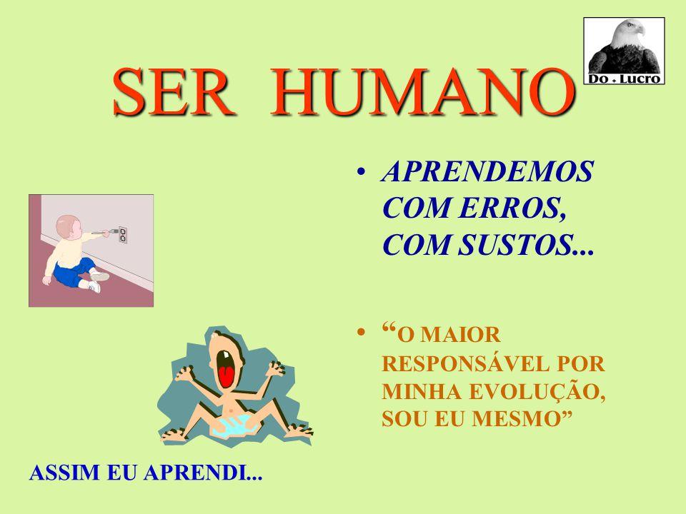 """SER HUMANO APRENDEMOS O QUE PRATICAMOS """" SOMOS RESULTADO DO QUE FAZEMOS, E NÃO DO QUE SIMPLESMENTE SABEMOS."""" PERSISTÊNCIA"""