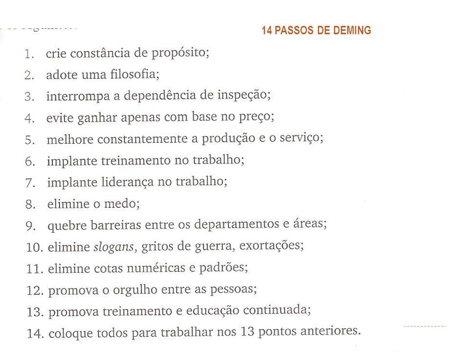 14 PASSOS DE DEMING