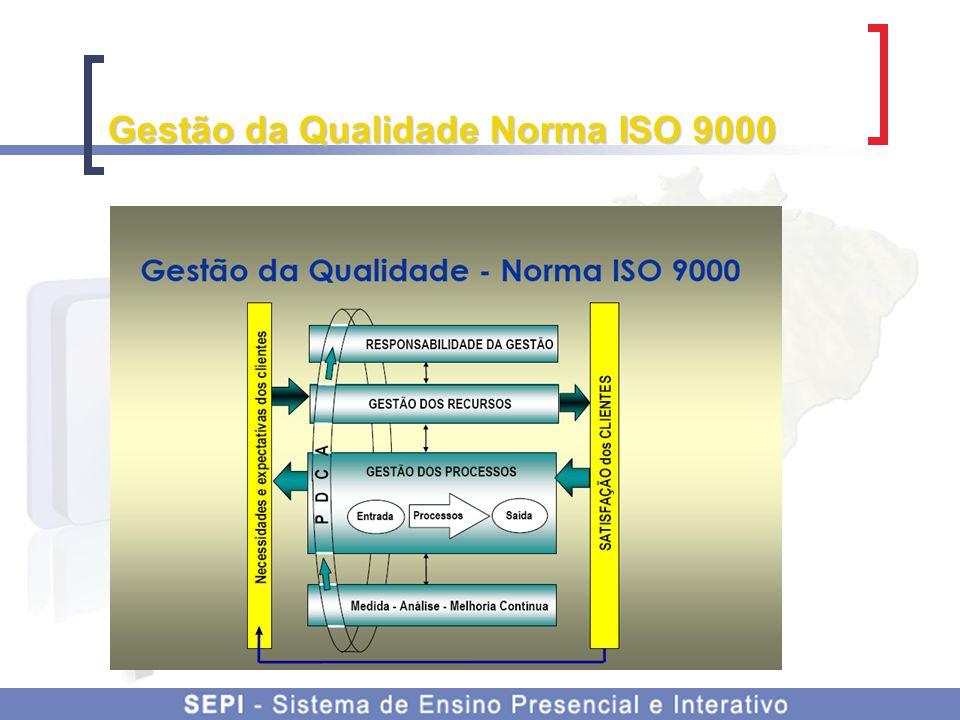 Gestão da Qualidade Norma ISO 9000