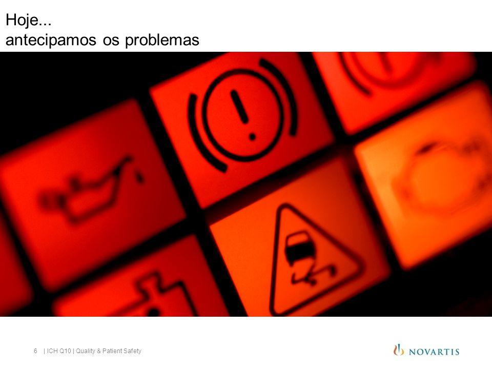 Hoje... antecipamos os problemas 6 | ICH Q10 | Quality & Patient Safety