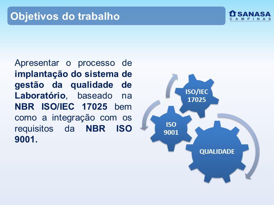  Próxima Etapa: Tomar ações a partir dos apontamentos realizados em auditoria para que os requisitos da NBR ISO/IEC 17025 sejam plenamente atendidos, evitando futuras não- conformidades, retrabalhos e inconsistências nos resultados das análises; Consequência: conformidade com a Portaria 2914.