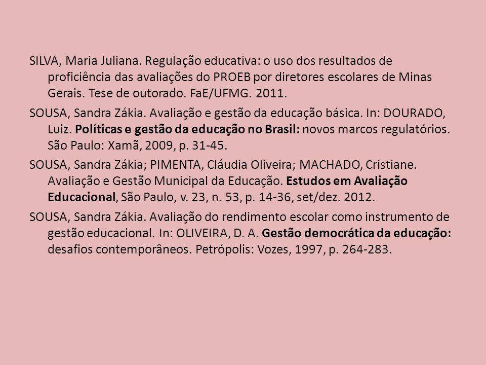 SILVA, Maria Juliana.