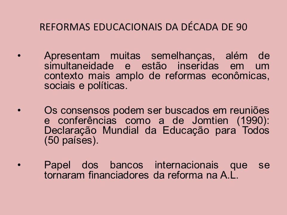 Apresentam muitas semelhanças, além de simultaneidade e estão inseridas em um contexto mais amplo de reformas econômicas, sociais e políticas.