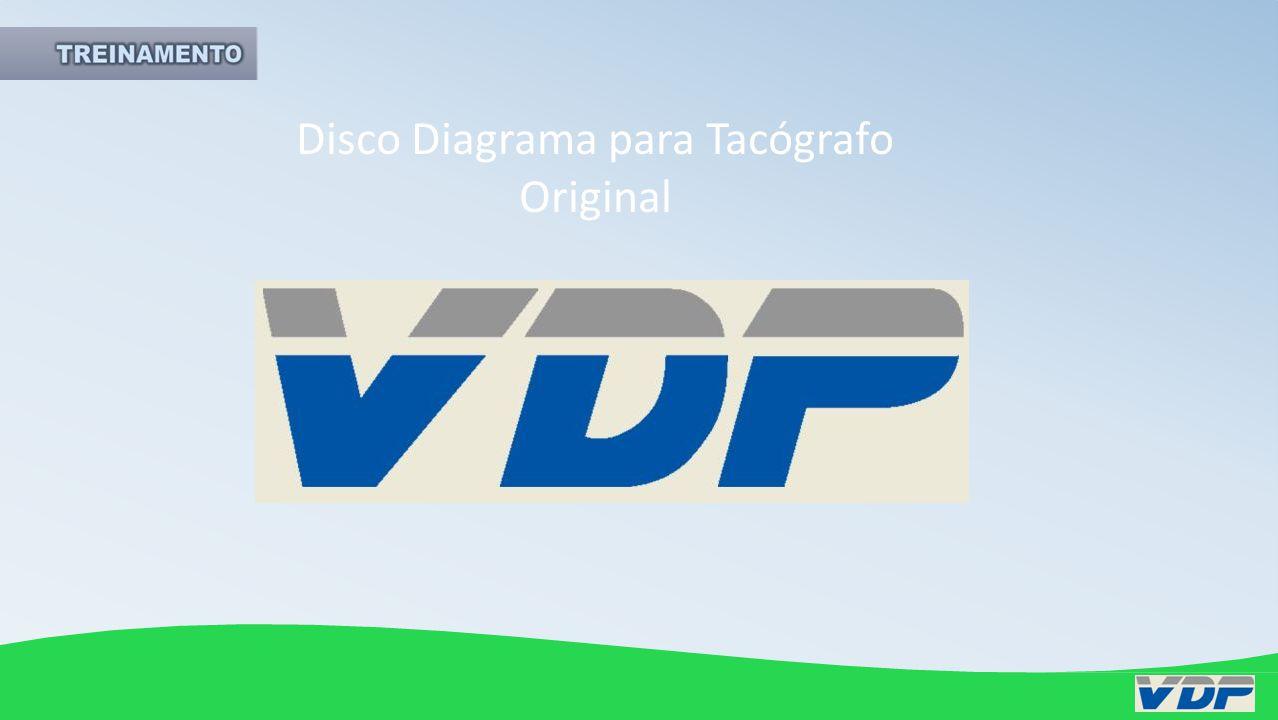 Disco Diagrama para Tacógrafo Original