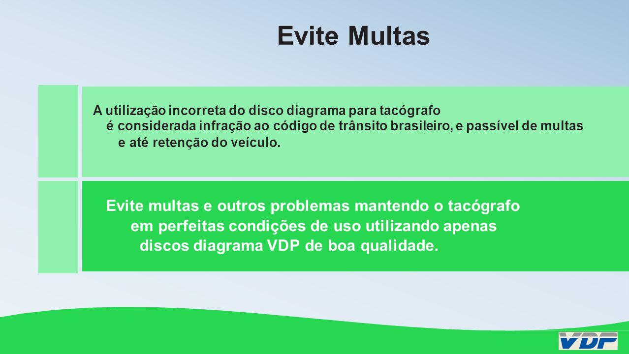 A utilização incorreta do disco diagrama/tacógrafo é considerada infração ao código de trânsito brasileiro, passível de multas e até retenção do veícu