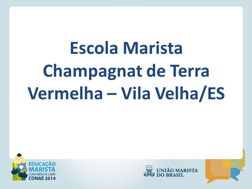 A Escola Marista Champagnat de Terra Vermelha é uma Unidade Social da UBEE – União Brasileira de Educação e Ensino, localizada no município de Vila Velha na periferia da grande Terra Vermelha.