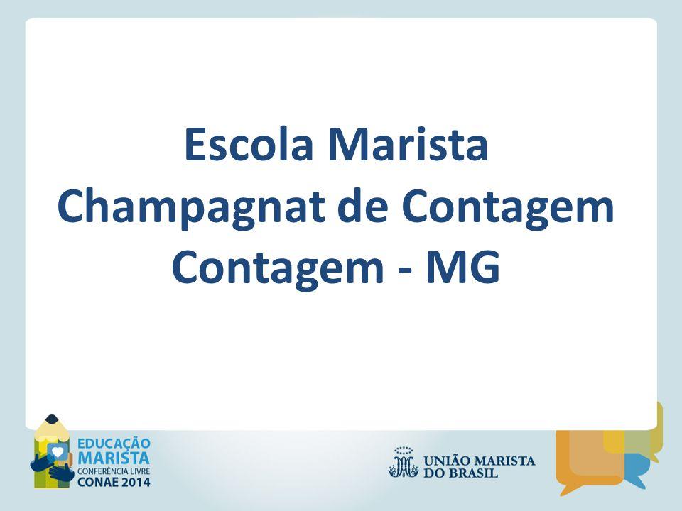 Contextualização A Escola Marista Champagnat de Contagem é uma Unidade Social da UBEE – União Brasileira de Educação e Ensino, localizada no município de Contagem/MG.
