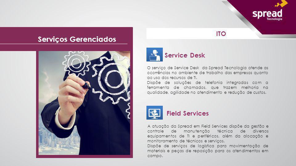 Service Desk O serviço de Service Desk da Spread Tecnologia atende as ocorrências no ambiente de trabalho das empresas quanto ao uso dos recursos de T