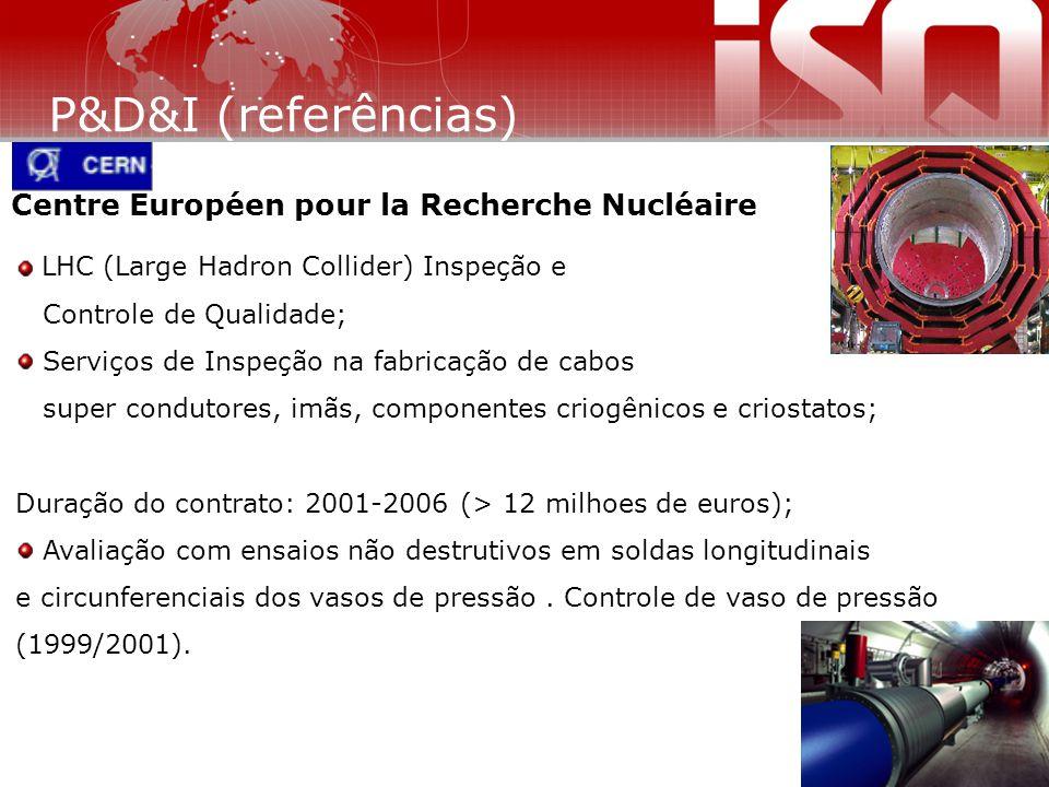 Centre Européen pour la Recherche Nucléaire LHC (Large Hadron Collider) Inspeção e Controle de Qualidade; Serviços de Inspeção na fabricação de cabos