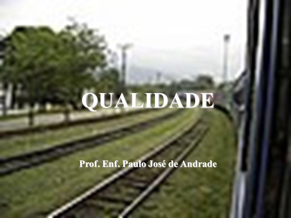 QUALIDADE Prof. Enf. Paulo José de Andrade
