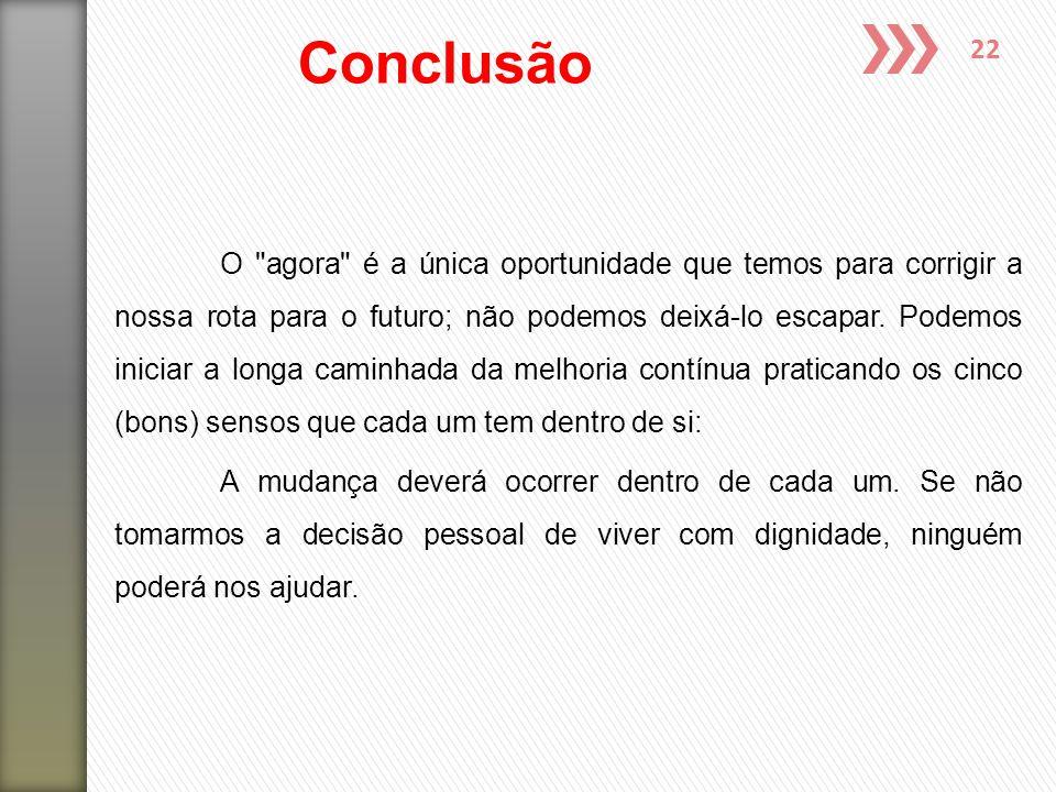 22 Conclusão O