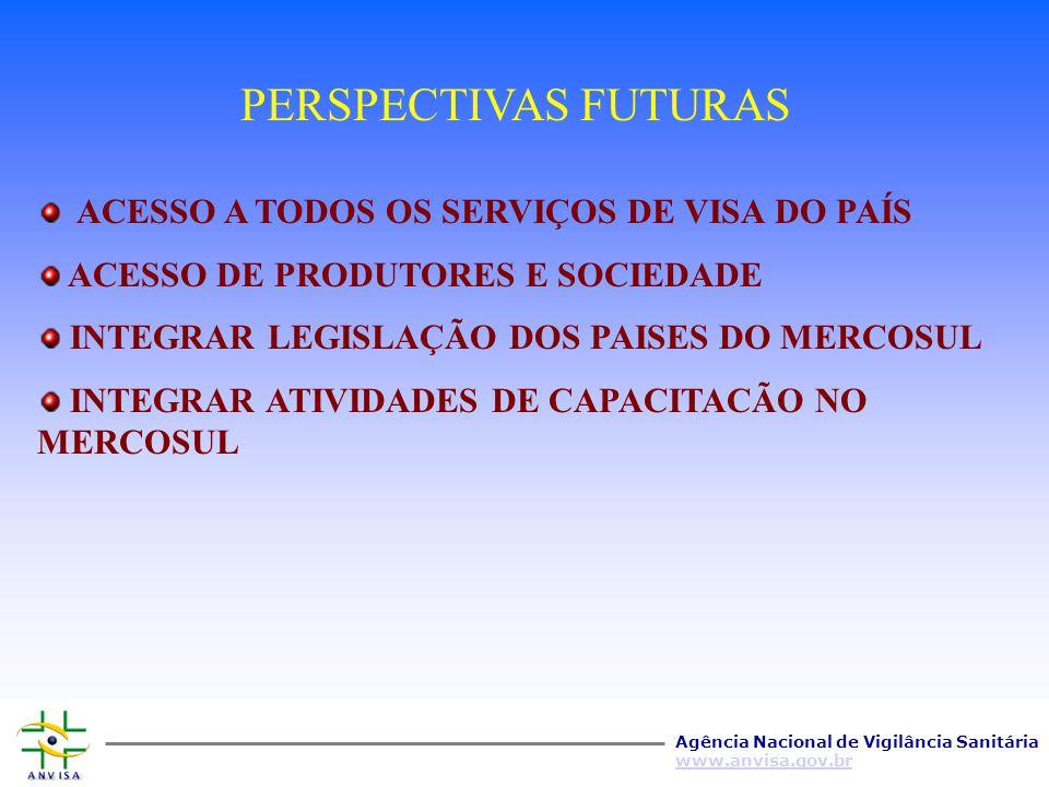 Agência Nacional de Vigilância Sanitária www.anvisa.gov.br INSTITUTO VIRTUAL DE VIGILÂNCIA SANITÁRIA LEGISLAÇÃO CONHECIMENTO TÉCNICA BIBLIOTECA VIRTUA