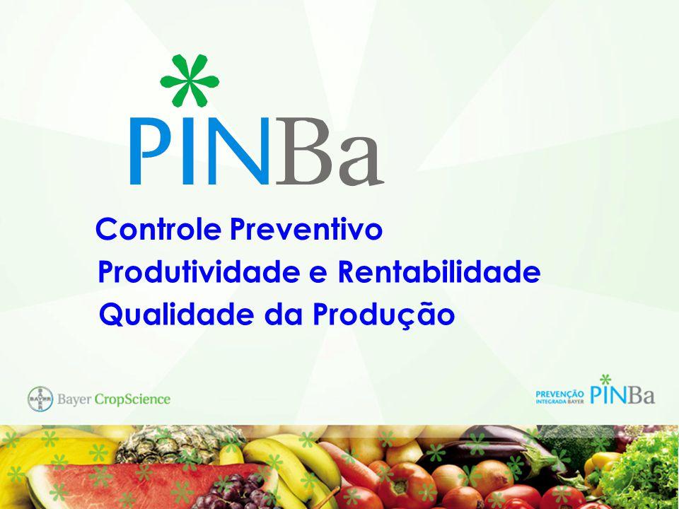 Controle Preventivo Produtividade e Rentabilidade Qualidade da Produção
